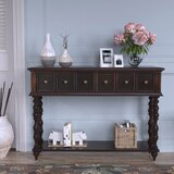 Potosi 48 Solid Wood Console Table by Charlton Home®