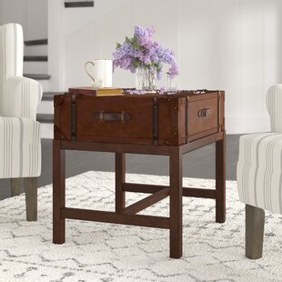 Three Posts Bouldin Suitcase End Table