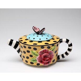 Schiraga 0.38-qt. Teapot