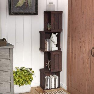 Echeverria Corner Bookcase by Laurel Foundry Modern Farmhouse