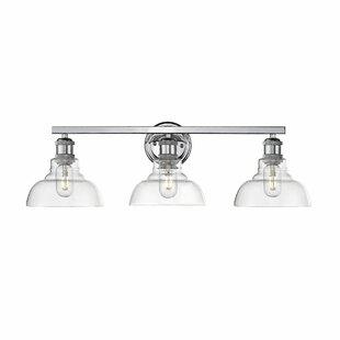 Affordable Roxann 3-Light Vanity Light ByWilliston Forge