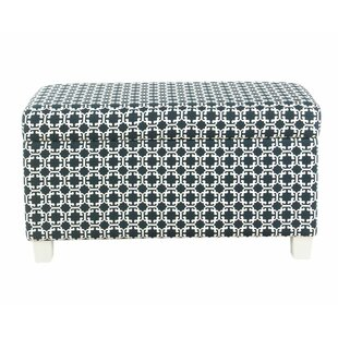 Adames Upholstered Storage Bench by Harriet Bee