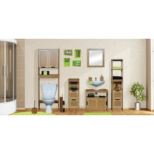 Budget Mahe 11.13 W x 56.12 H Linen Tower ByEvideco