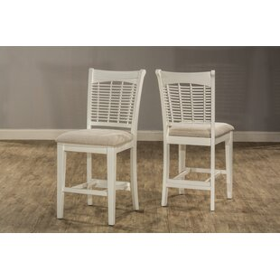 Kamath Bayberry 25 Bar Stool (Set of 2) August Grove