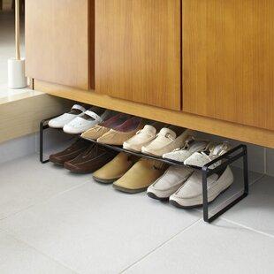 8 Pair Shoe Rack By Yamazaki