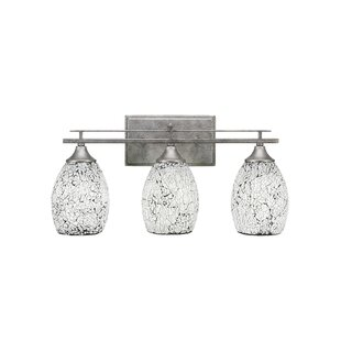 Inexpensive Mindi 3-Light Vanity Light By Latitude Run