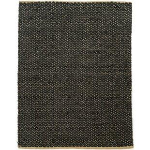 Find Natalee Hand Woven Black Area Rug ByCorrigan Studio