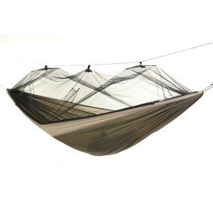 Michel Moskito Kakoon Nylon Camping Hammock by The Holiday Aisle