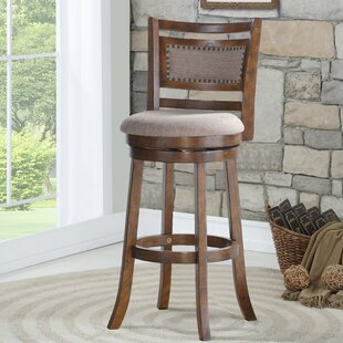 Tad 29 Swivel Bar Stool Canora Grey