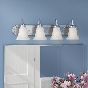 Tiverton Strip 4-Light Vanity Light By Three Posts