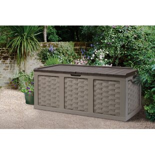 Starplast 153 Gallon Plastic Deck Box