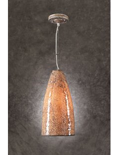 Schroer 1-Light Cone Pendant by World Menagerie