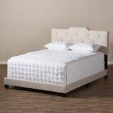 Buena Vista Upholstered Standard Bed by Charlton Home®