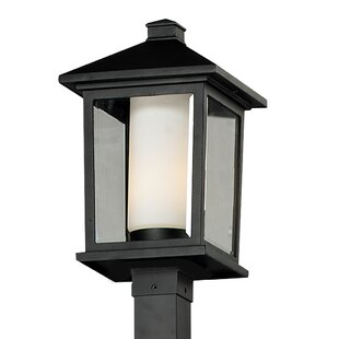 Great choice Olive Outdoor 1-Light Post Light By Andover Mills