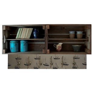 Blackshear Double Apple Box Accent Shelf By August Grove