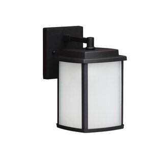 Juhl 1-Light Outdoor Wall Lantern