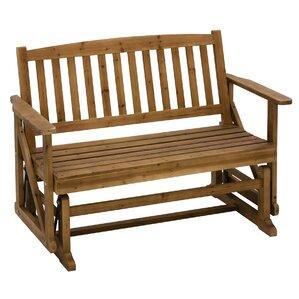 Glider Wooden Garden Bench