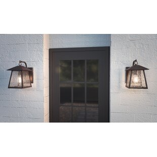 Order Carl Outdoor Wall Lantern By Millwood Pines