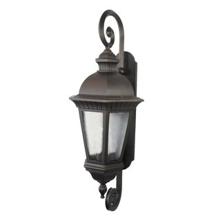 Lenahan 1-Light Outdoor Wall Lantern By Charlton Home Outdoor Lighting