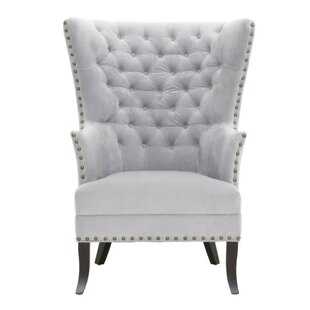 Holly Wingback Chair by Rosdorf Park
