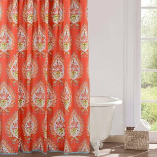 Kalani Cotton Single Shower Curtain By Dena Home