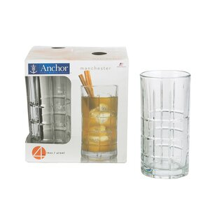 Beverage 16 oz. Glass Highball Glasses (Set of 16)