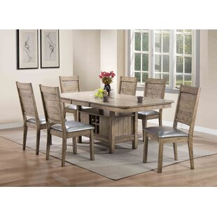 Spicer 7 Piece Extendable Dining Set Loon Peak
