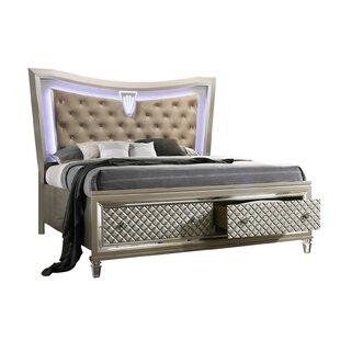 Matt Upholstered Storage Standard Bed by Rosdorf Park