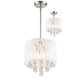Kent 3-Light Drum Pendant by Mercer41