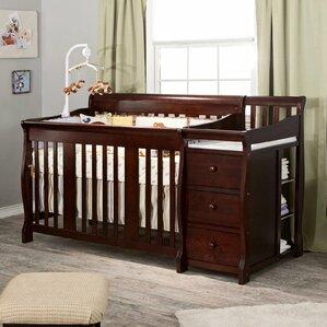 Portofino 4 In 1 Convertible Crib And Changer