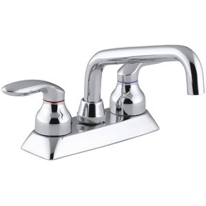 Perfect Coralais Utility Sink Faucet With Lever Handles