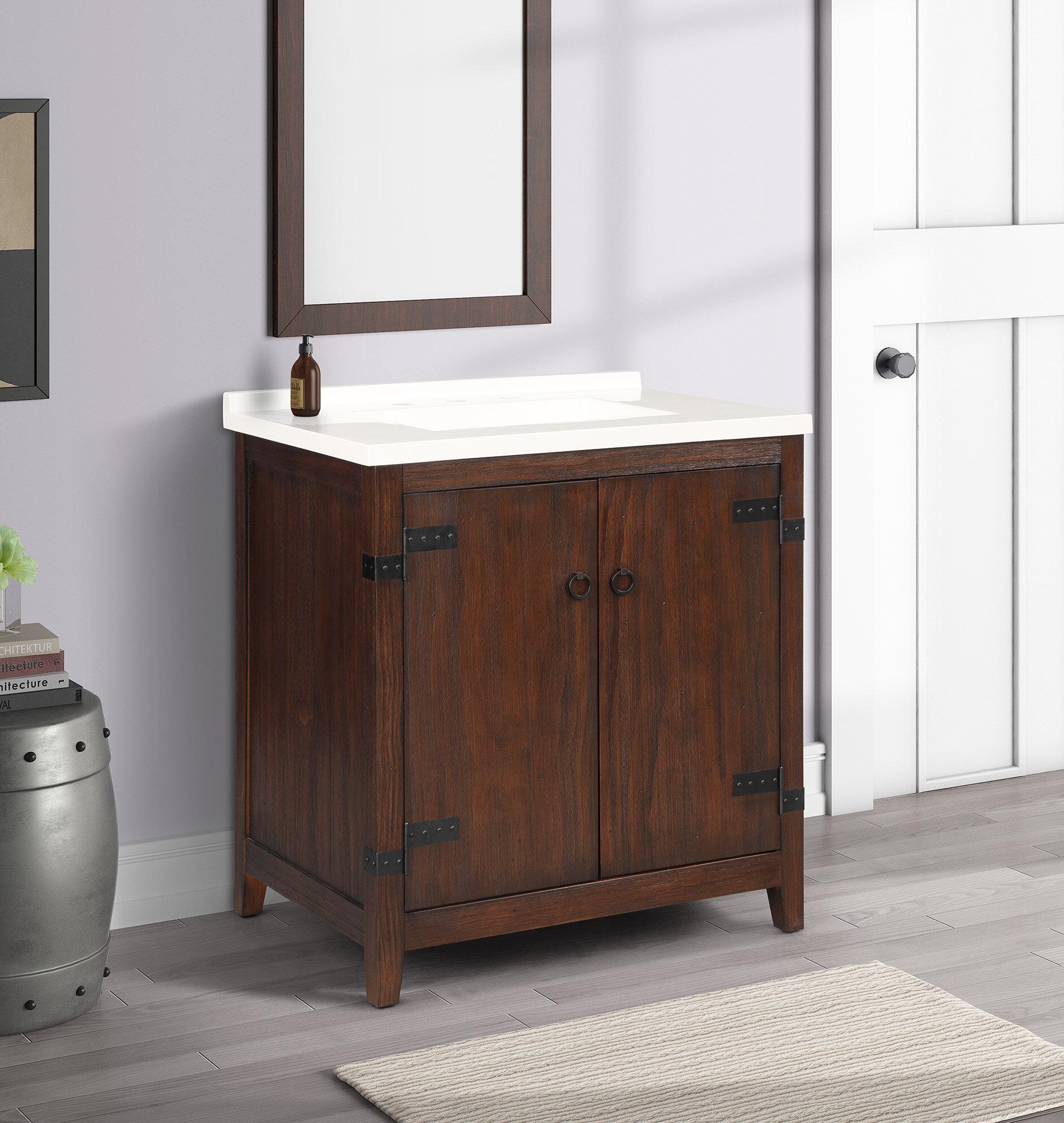 Loon Peak 31 Single Bathroom Vanity Set Wayfair