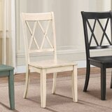 Lim Cross Back Side Chair (Set of 2) by Red Barrel Studio®