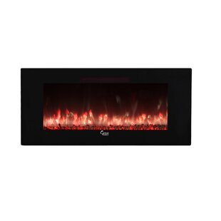 Swaney Linear Wall Mounted Electric Fireplace by Orren Ellis