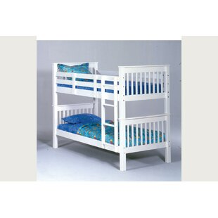 Dasheil Twin Over Twin Bunk Bed by Harriet Bee Great price