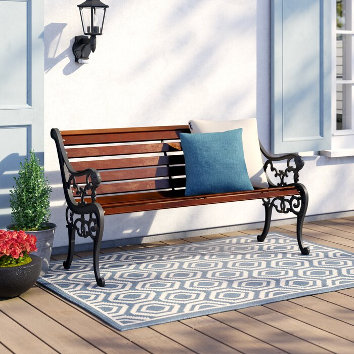 Pleasing Garden Bench Made Of Solid Wood Squirreltailoven Fun Painted Chair Ideas Images Squirreltailovenorg