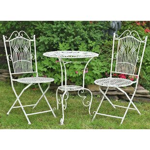 Glennon 3 Piece Bistro Set