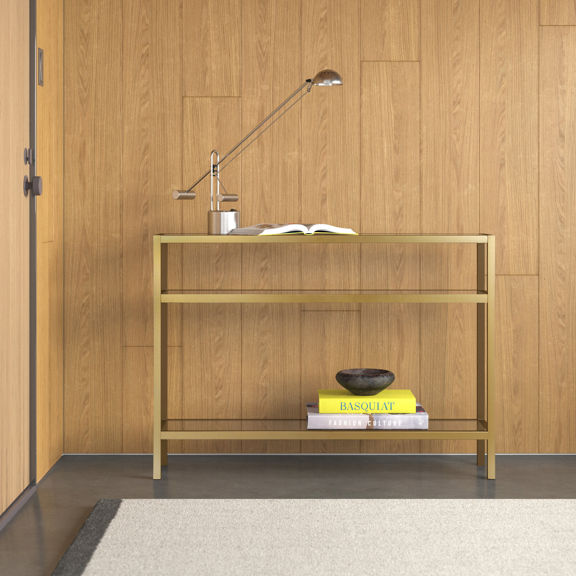 Picture of: Allmodern Console Table Reviews Wayfair