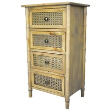 Wallace 4 Drawer Accent Chest by Heather Ann Creations