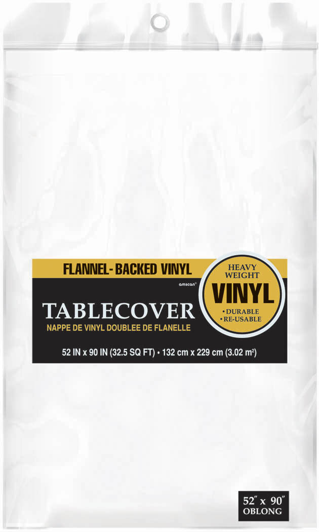 Amscan Everyday Flannel Backed Vinyl Tablecloth U0026 Reviews ...