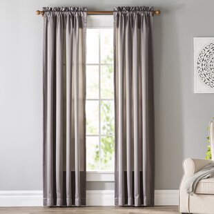 Gray And Silver Curtains Drapes Youll Love