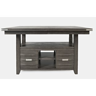 Berea Counter Height Extendable Dining Table Ivy Bronx