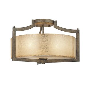 Latitude Run Janik 3-Light Semi Flush Mount