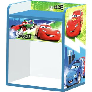 Cars 1 Drawer Bedside Table by Zoomie Kids