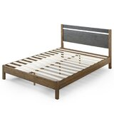 Prins Solid Wood Low Profile Platform Bed by Foundry Select