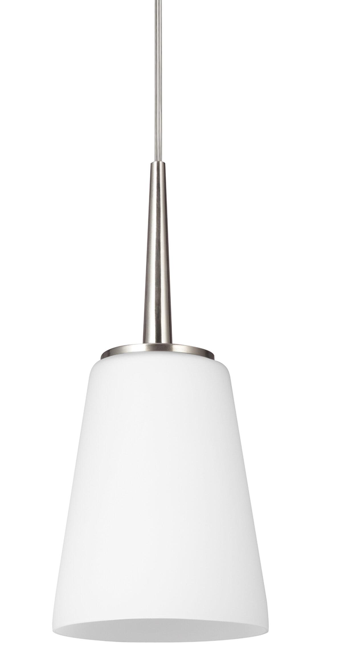 Aimee 1 Light Single Cone Pendant