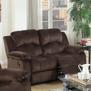 Shop Pantano Reclining Loveseat by Winston Porter