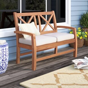 Tim X Back Patio Loveseat with Cushions by Birch Lane™ Heritage