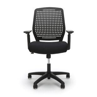 Symple Stuff Plastic Back Task Ergonomic Office Chair