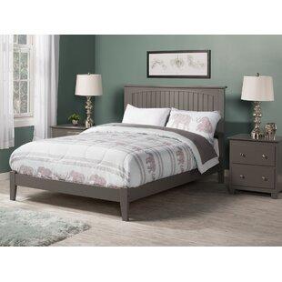 Odalys Atlantic Gray Panel Bed